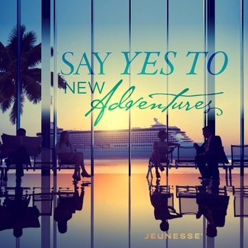 Say yes to new adventures - Jeunesse